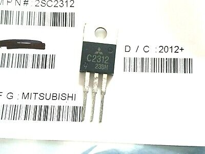 2sc2312 Silicon Rf Power Transistor Npn 12v 17w 27mhz To220 Lot Of 10
