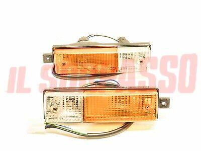 Lights Indicators On Bumper Right Left Lancia beta Coupe Spider Original