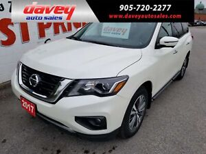2017 Nissan Pathfinder SL AWD, 7 PASSENGER, REMOTE START