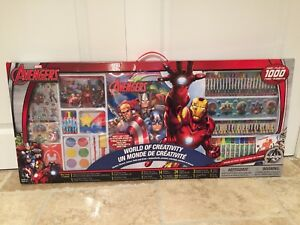 Brand new huge Avengers art set