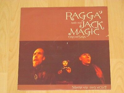 "12"" Ragga & The Jack Magic Orchestra ‎- Where Are They Now ? Emi ‎- 12em 456 1"