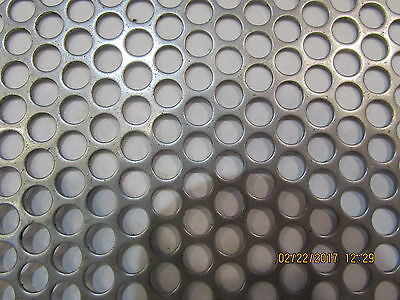 14 Holes 16 Gauge 304 Stainless Steel Perforated Sheet--16 X 16