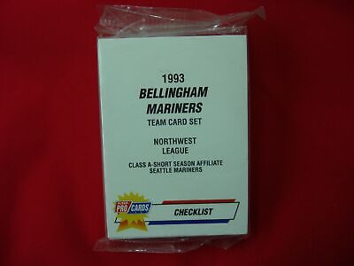 1993 Classic Best APPLETON FOXES 30 Card Team Set FACTORY SEALED Raul Ibanez RC