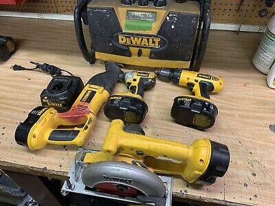 dewalt tool lot