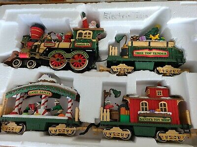 Holiday Express Christmas Electric Animated Train Set For Parts