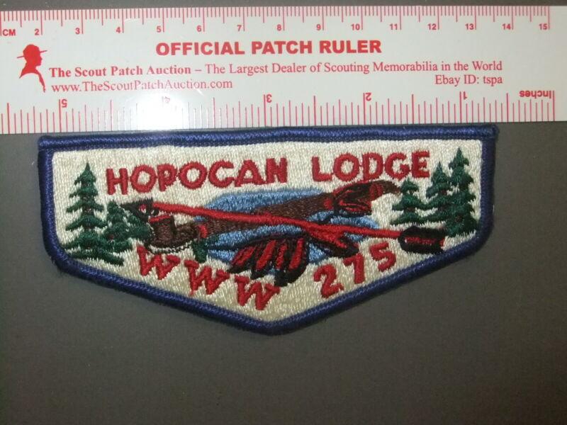 Boy Scout OA 275 Hopocan flap 1017DD