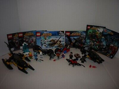 LEGO Batman 76000 76011 76053 Man Bat Harley Freeze Nightwing 100% Complete