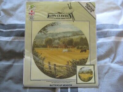 Heritage Crafts Counted Cross Stitch Kit - John Claytons' Buttercup Meadow
