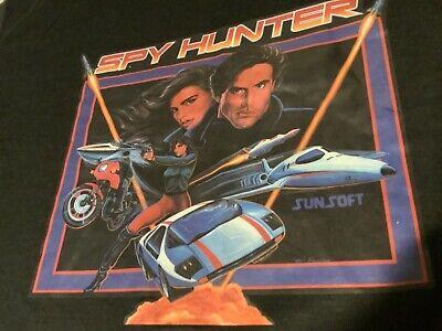 80s Tops, Shirts, T-shirts, Blouse   90s T-shirts VINTAGE THIN 1980's SPY HUNTER VIDEO GAME SHIRT L BALLY MIDWAY SUNSOFT NES USA $19.95 AT vintagedancer.com