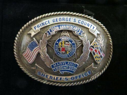 Collectors Belt Buckle Prince George
