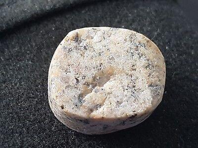 Stunning Viking stone gaming piece rare artifact L35x