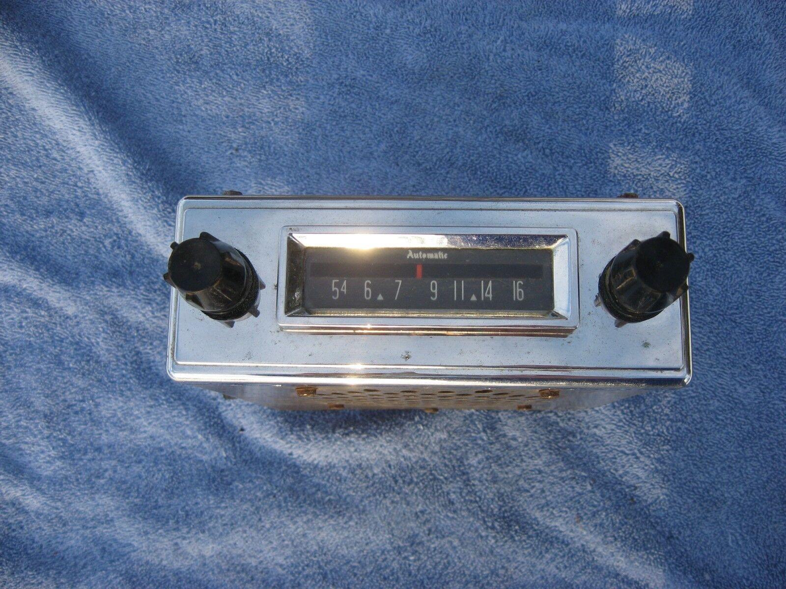 1957 Car AM Radio