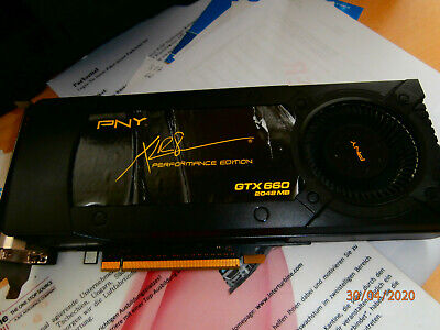 PNY NVIDIA GeForce GTX 660  (2048 MB) Grafikkarte