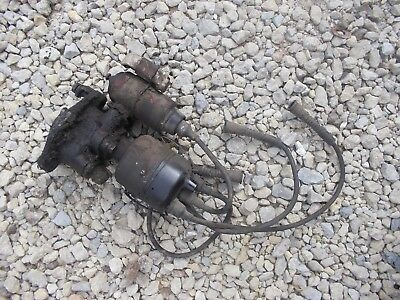 Farmall 504 Tractor Engine Motor Distributor Drive Plug Wires Tach Drive Coil