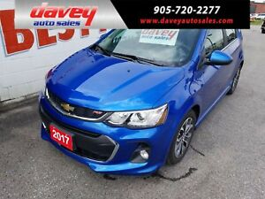 2017 Chevrolet Sonic LT Auto RS PACKAGE, BACK UP CAMERA, REMO...