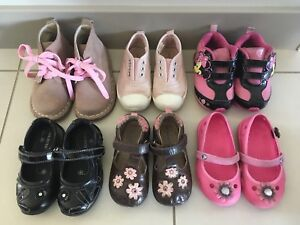 Toddler girl shoes, sneakers, Crocs for $5-$15, size 6