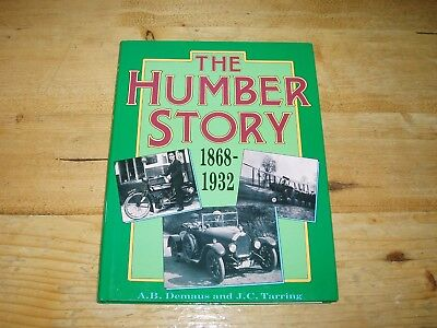 The Humber Story 1868-1932. (Bicycles & Cars)