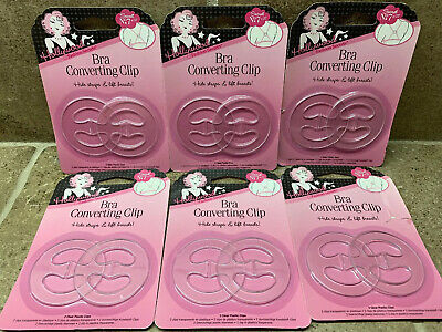 🔥12 Pack Hollywood Fashion Secrets Bra Converting Lift Clips BEST DEAL!🔥
