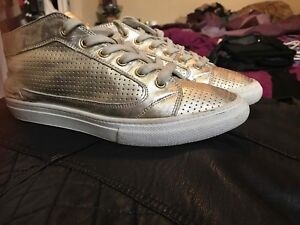 Nine West Gold Sneakers - Retails: $145 Asking: $25
