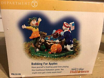 Bobbing For Apples Halloween (Dept. 56 Snow Village Halloween   Bobbing for Apples    )