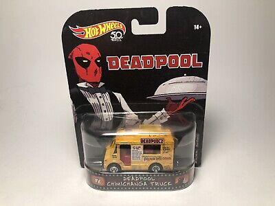 hot wheels replica entertainment Deadpool Chimichanga Truck