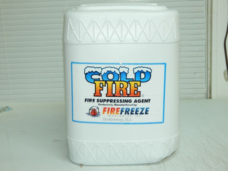 Cold Fire 5 gallon  fire extinguisher refill concentrated agent