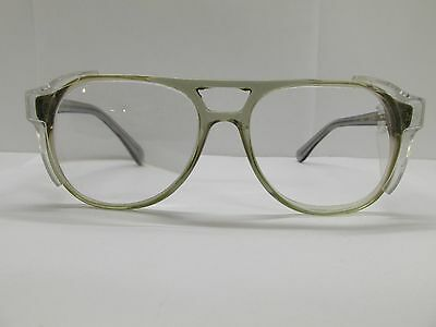 American Optical Safety F4000 Z87 Eyeglasses Eyewear FRAMES 56-20-145 TV6 80218A