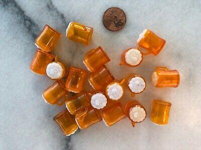 Mini Plastic Beer Mugs (Vintage Plastic Mini Toy Lot Gumball Cracker Jack Style Frosty Beer Mugs)