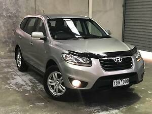 2010 Hyundai Santa Fe Diesel 7 Seats RWC Rego Log Book South Morang Whittlesea Area Preview
