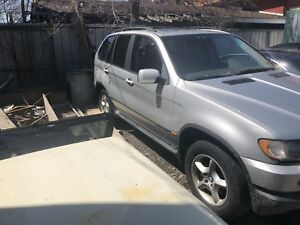 2002 BMW X5 parts only