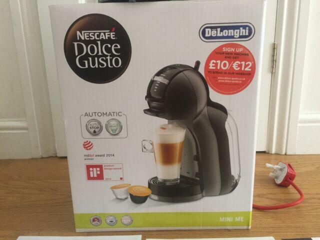 DOLCE GUSTO by De'Longhi EDG305BG Mini Me Play & Select Hot Drinks Machine Black