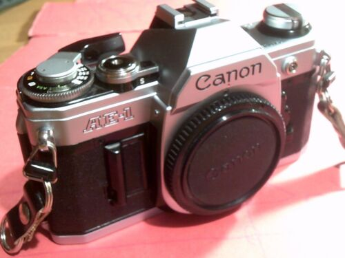 "CANON  AE 1  ""REFURBISHED""   BODY ONLY"