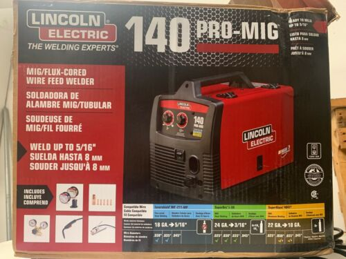 Lincoln Electric PRO-MIG 180 Welder 230-Volt MIG Flux-Cored Model K2481-1