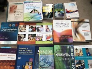 RN/RPN NURSING TEXTBOOKS