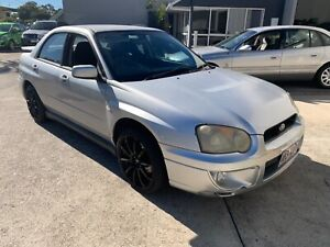 SUBARU IMPREZZA 2.5 LTR RS AUTO SEDAN 2002 AT A SILLY PRICE Noosaville Noosa Area Preview
