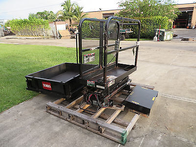 Toro Workman Vertical Platform Lift - Model 07344 W 23 Dump Body