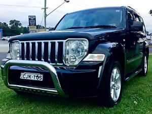 2009 Jeep Cherokee LIMITED V6 Auto 4x4 Wagon Low KM's Luxury SUV Leumeah Campbelltown Area Preview