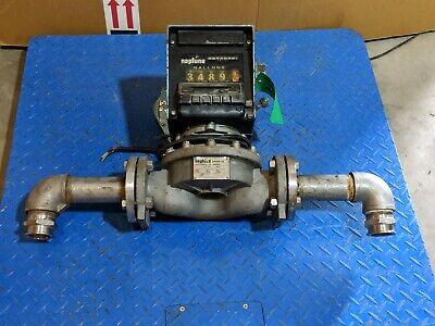 Neptune Model 832 Preset Mechanical Register 2 Type Mp 15 To 150 Gpm Flowmeter