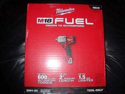 """Milwaukee 2861-20 Fuel M18 18V Li-ion 1/2"""" Brushless Impact Wrench Friction Ring"""