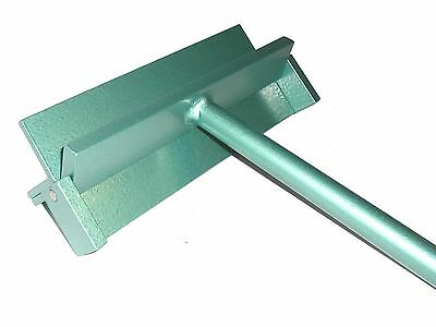 Sheet Metal Folder / Bending Tool - 250mm / 2mm Steel - Next day delivery.