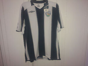 Authentic Umbro Official 2008-09 West Bromwich Albion Home Soccer Jersey