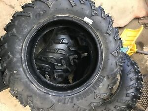 Brand new quad tires take offs