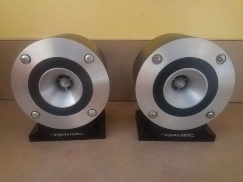 REALISTIC Super Tweeter PAIR 40-1310A 8 Ohm - JAPAN - Complete & TESTED