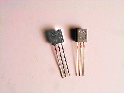 2sk359 Original Hitachi Fet Transistor 2 Pcs