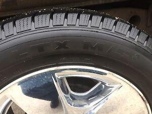 """Original 20"""" rims, wheels, Michelin MTX m/s 275/55R20 Silverado  Cambridge Kitchener Area image 7"""