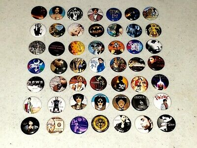 49 Prince Buttons 1 inch Button Pin Pins Albums LP Vinyl Complete Discography