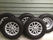 Hilux sr5 wheels and off-road tyres Rowville Knox Area Preview