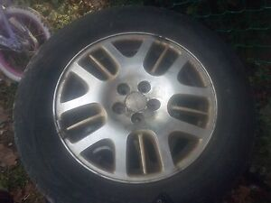 Subaru rims with tires Peterborough Peterborough Area image 1