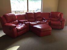Leather lounge suite Mandurah Mandurah Area Preview