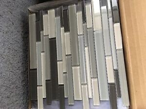 Back splash tile glass